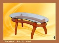 Холна маса със стъклен плод