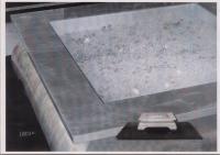 Дизайнерска маса с кристали