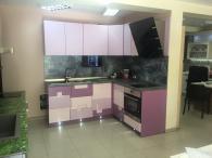 Кухня в релефен мдф мат